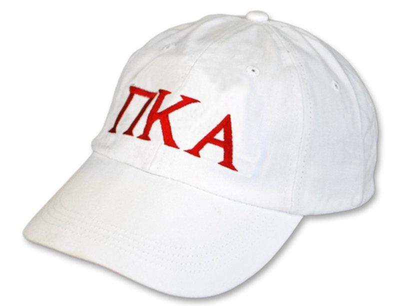 Pi Kappa Alpha Letter Hat