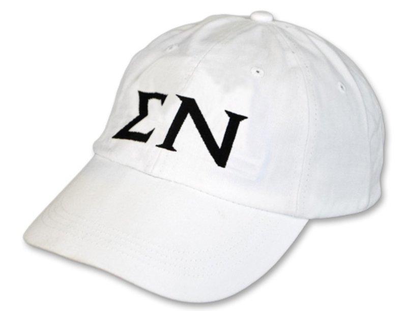 Sigma Nu Letter Hat