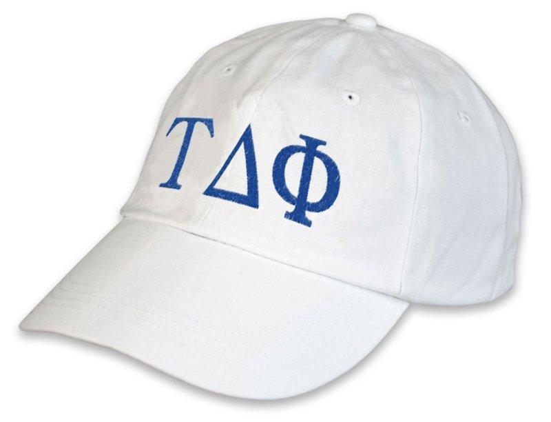 Tau Delta Phi Greek hat