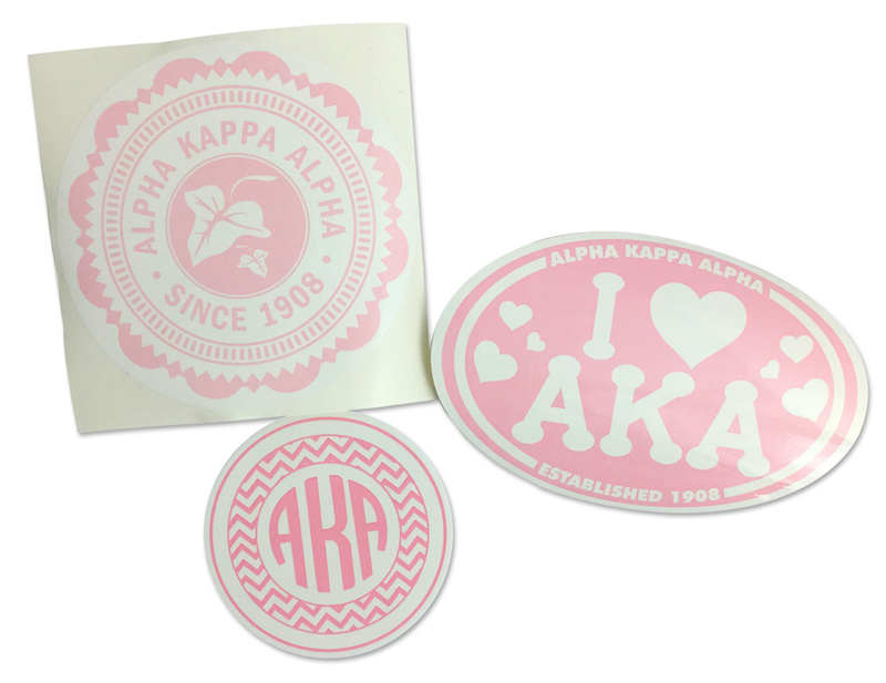 Alpha Kappa Alpha Sorority Sticker Collection $5.95