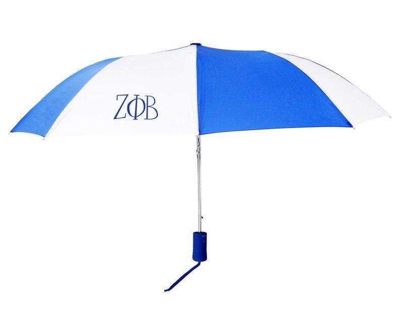 Zeta Phi Beta Lettered Umbrella