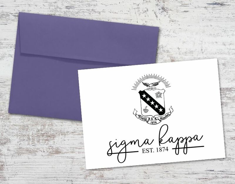 Sigma Kappa Established Notecards(6)