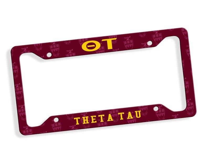 Theta Tau Car Merchandise & License Plate Frames