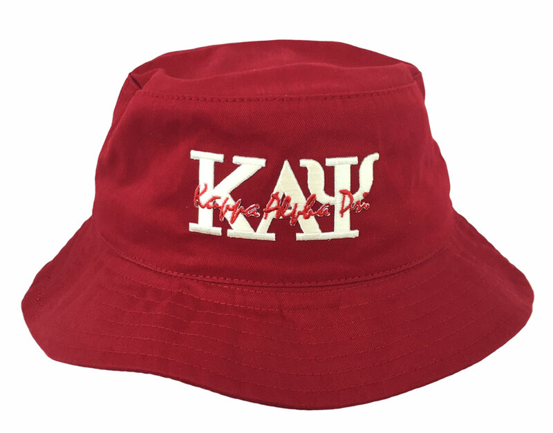 b946464134b72 DISCOUNT-Kappa Alpha Psi Bucket Hat SALE  21.95. - Greek Gear®