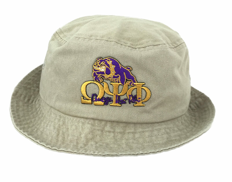 ... buying now Omega Psi Phi Bucket Hat SALE 21.95. - Greek Gear® 8a5ff  7db7b ... 96e0a8eecc2