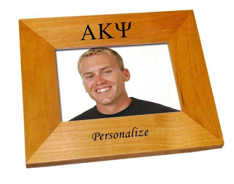 Alpha Kappa Psi Wood Picture Frame