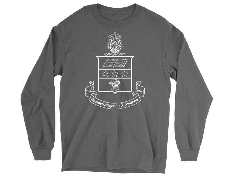 Alpha Chi Omega Crest Long Sleeve