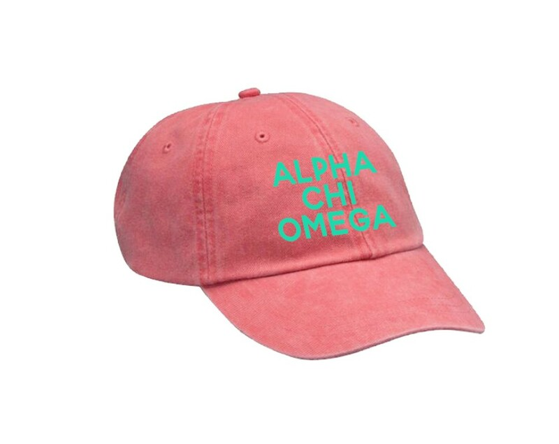 Alpha Chi Omega Simple Hat