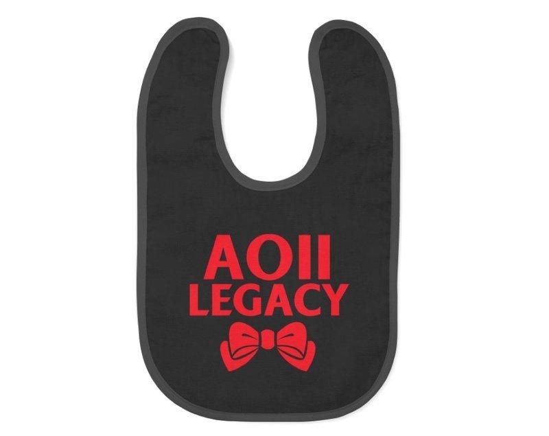 Alpha Omicron Pi Legacy Bib