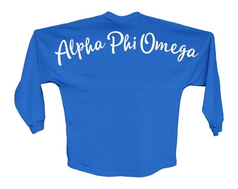 Alpha Phi Omega Script Jersey