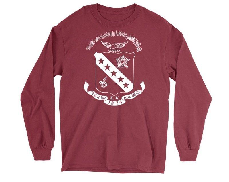 Sigma Kappa Crest Long Sleeve