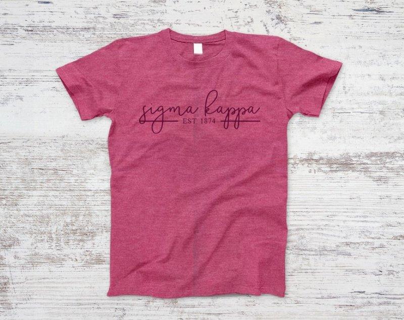 Sigma Kappa Established Tee