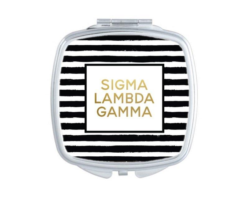 Sigma Lambda Gamma Striped Compact