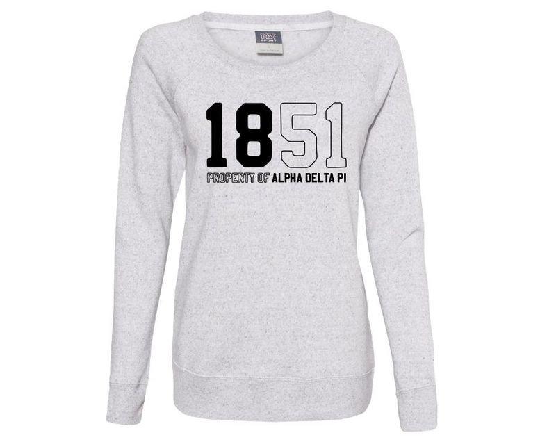 Alpha Delta Pi Established Crewneck Sweatshirt