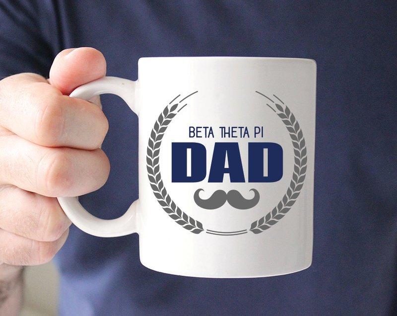 Beta Theta Pi Dadstache Mug