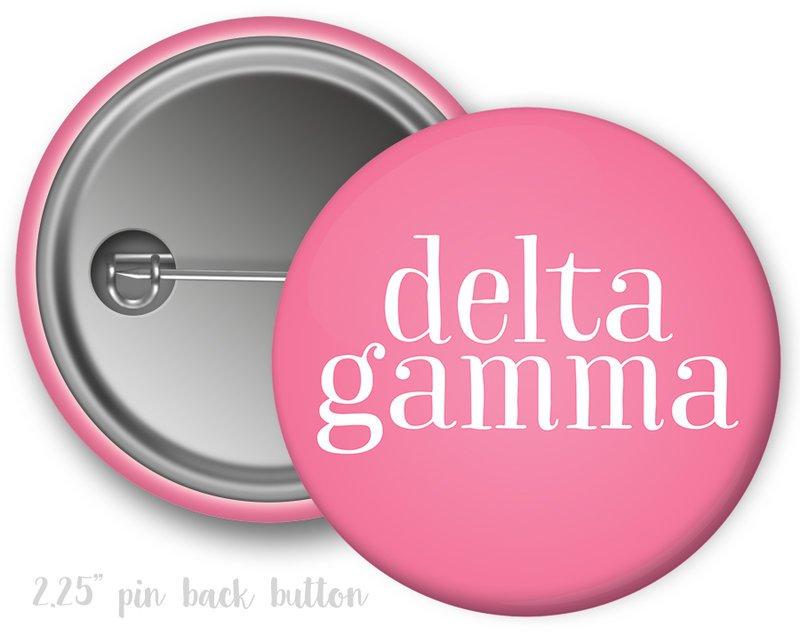 Delta Gamma Simple Text Button