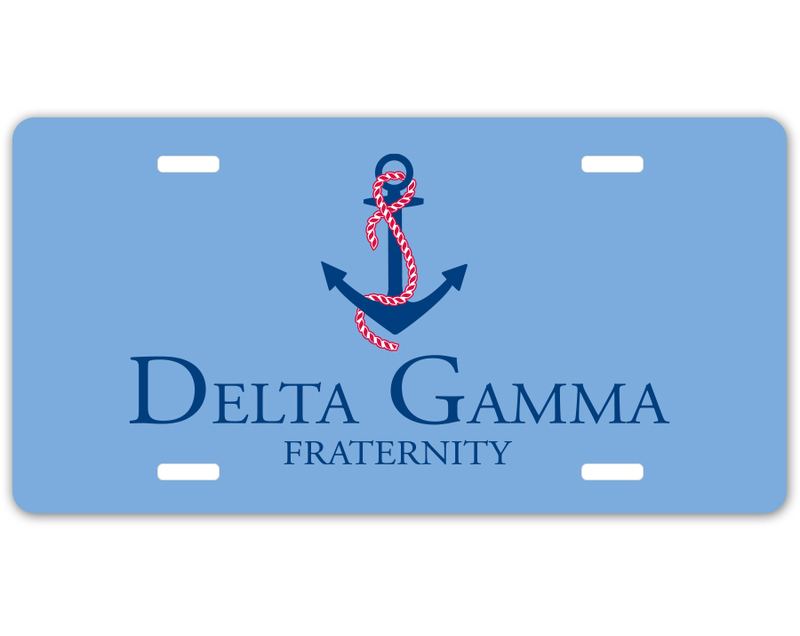 Delta Gamma Sorority Logo License Cover