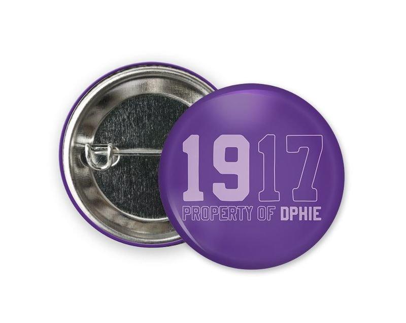 Delta Phi Epsilon Year Button