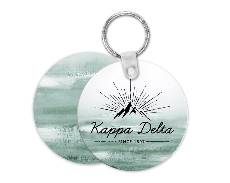 Kappa Delta Mountain Key Chain