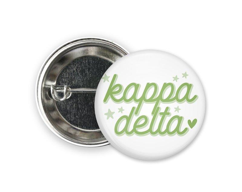 Kappa Delta Star Button