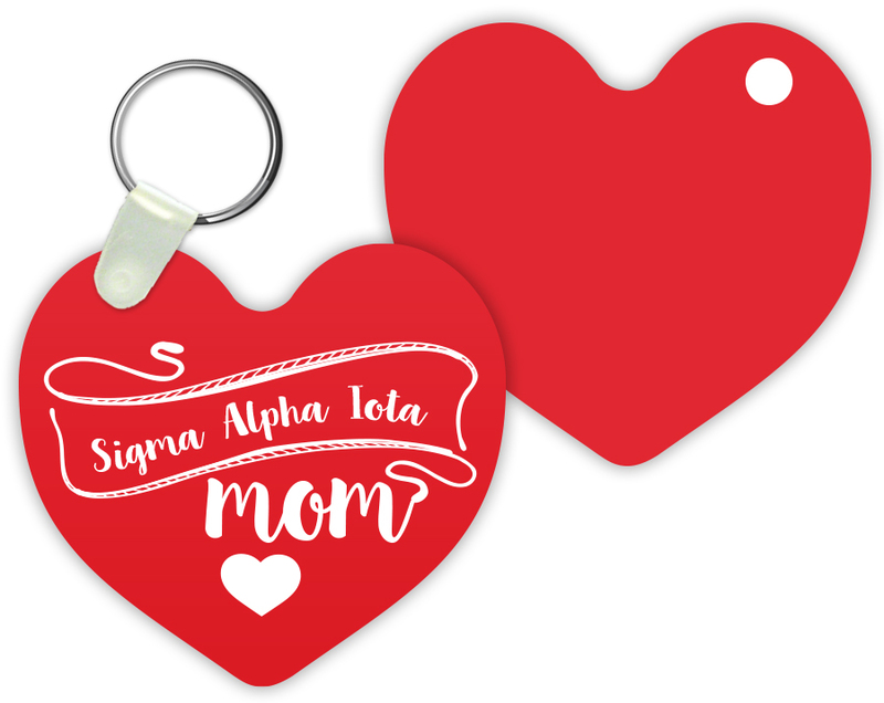 Sigma Alpha Iota Mom Keychain