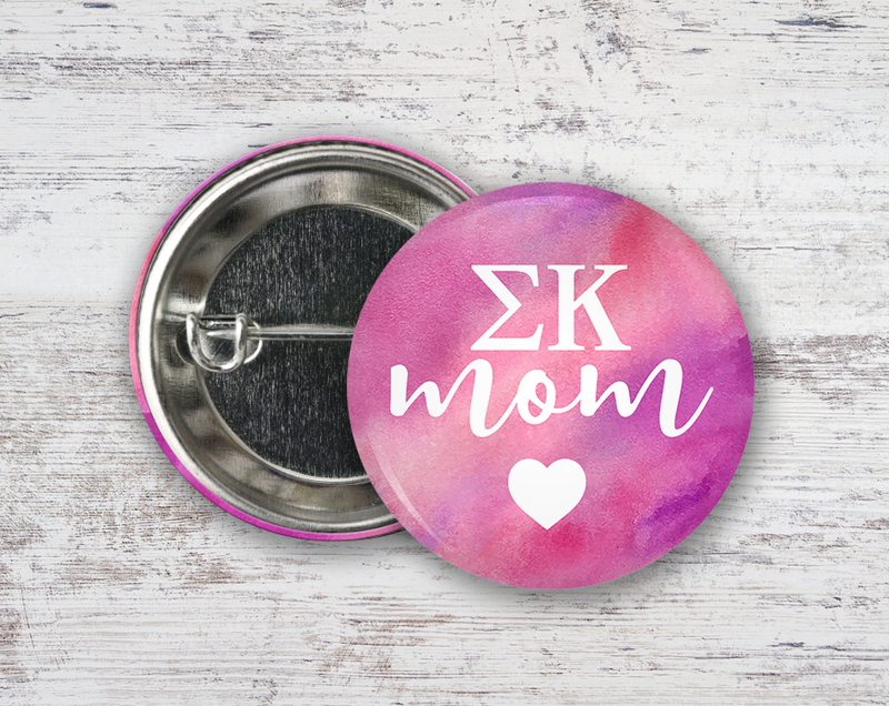 Sigma Kappa Mom Button