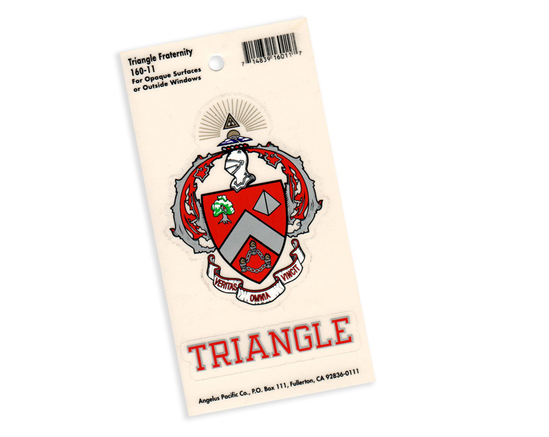Triangle Crest - Shield Decal