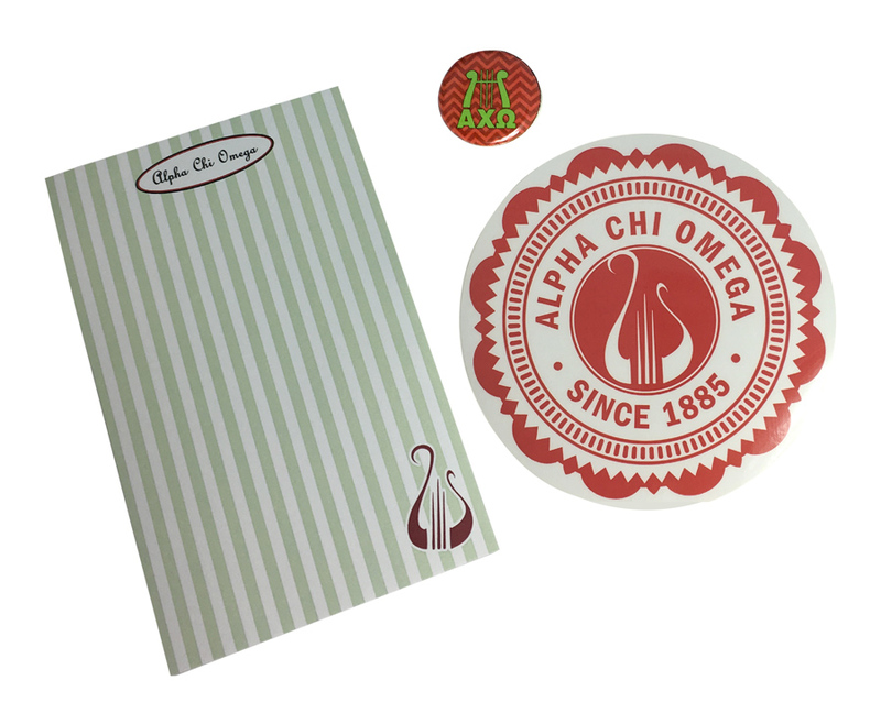 Alpha Chi Omega Sorority Musts Collection $9.95