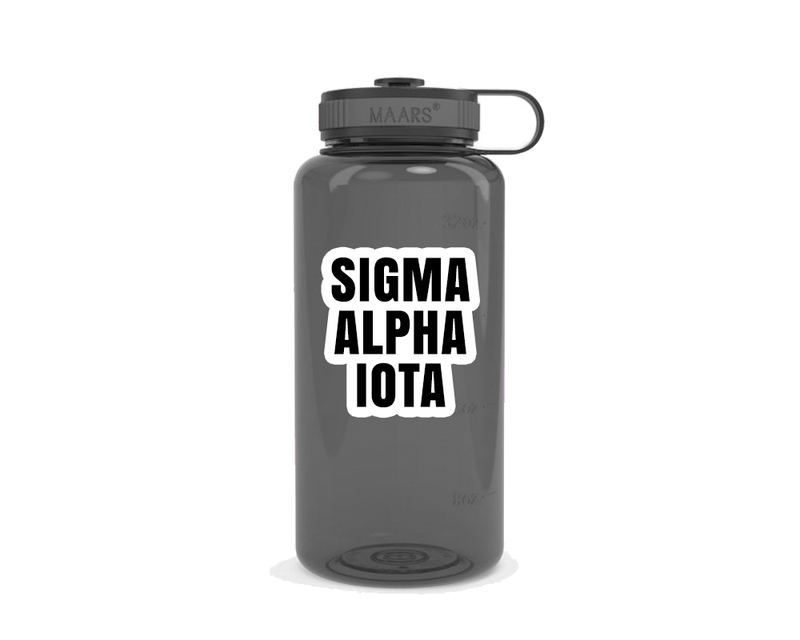Sigma Alpha Iota Simple Wide Mouth Water Bottle