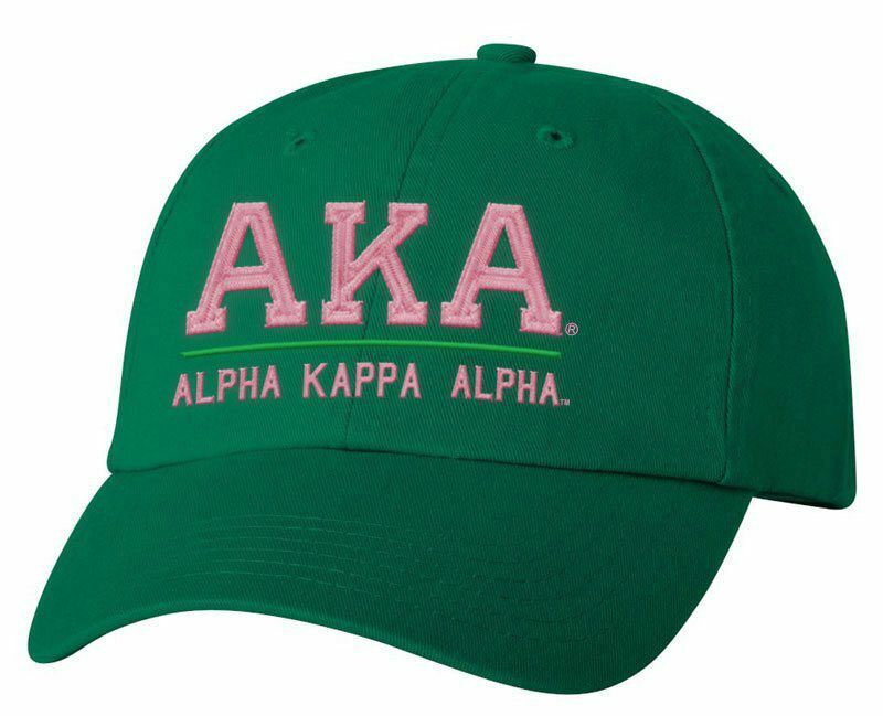 Alpha Kappa Alpha Old School Greek Letter Hat