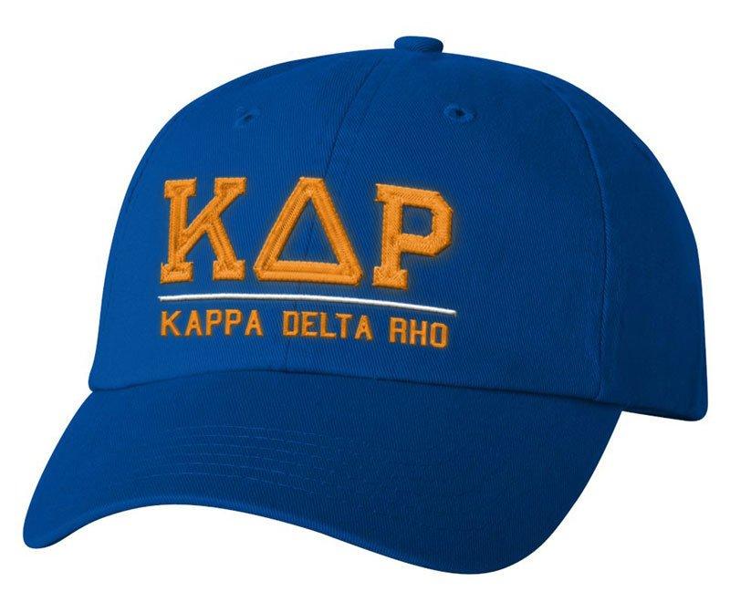 Kappa Delta Rho Old School Greek Letter Hat
