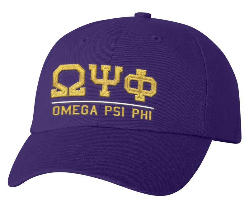 Omega Psi Phi Old School Greek Letter Hat