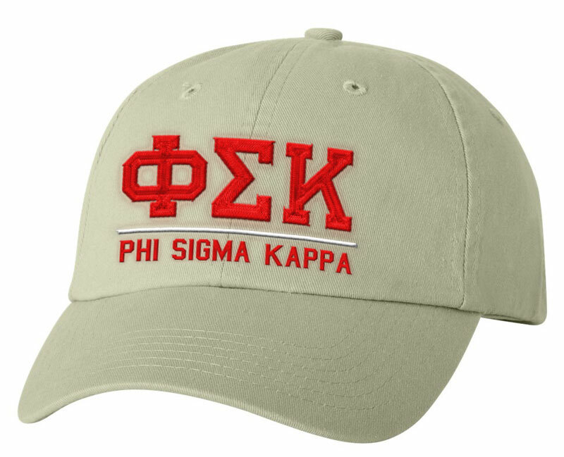 Phi Sigma Kappa Old School Greek Letter Hat
