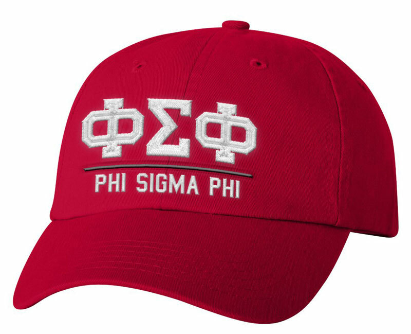 Phi Sigma Phi Old School Greek Letter Hat