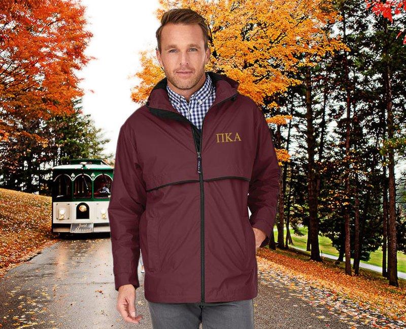 Pi Kappa Alpha Men's New Englander® Rain Jacket