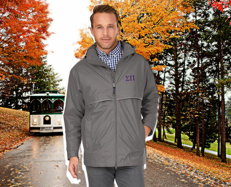 Sigma Pi Men's New Englander® Rain Jacket