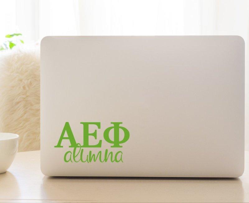 Alpha Epsilon Phi Alumna Decal