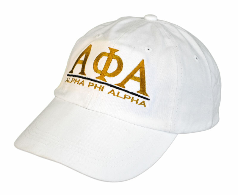 Alpha Phi Alpha Line Cap - FREE GROUND SHIPPING