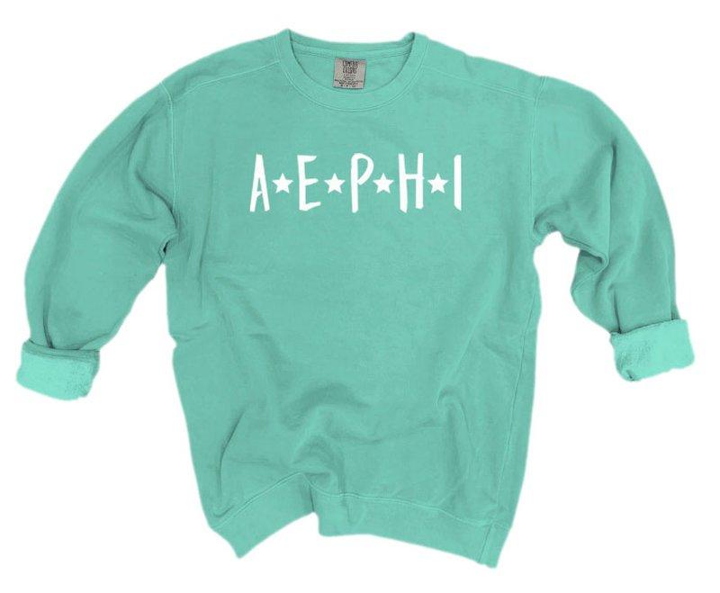 Alpha Epsilon Phi Comfort Colors Starry Night Crew