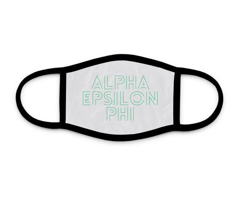 Alpha Epsilon Phi Modera Face Mask