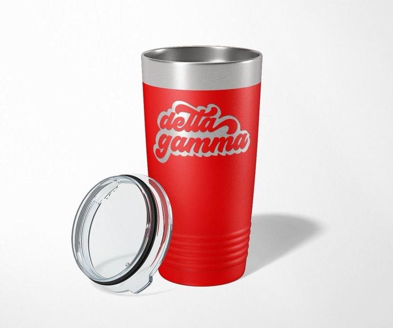 Delta Gamma Retro Tumbler