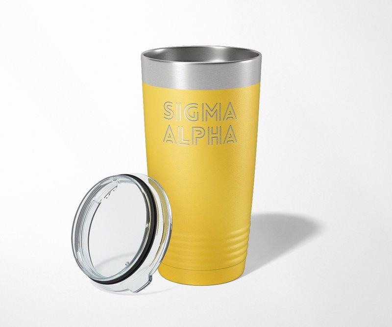 Sigma Alpha Modera Tumbler