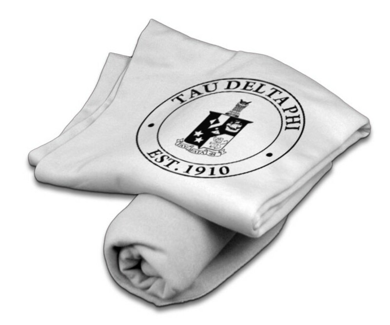 Tau Delta Phi Sweatshirt Blanket