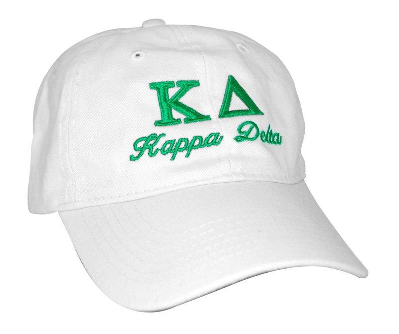 Kappa Delta Script Cap