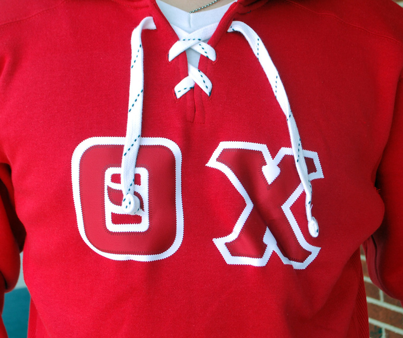 DISCOUNT- Fraternity Hockey Hoodie