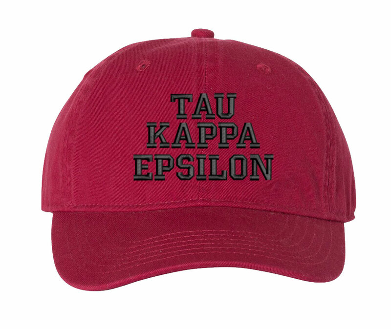 Tau Kappa Epsilon Pigment Dyed Baseball Cap