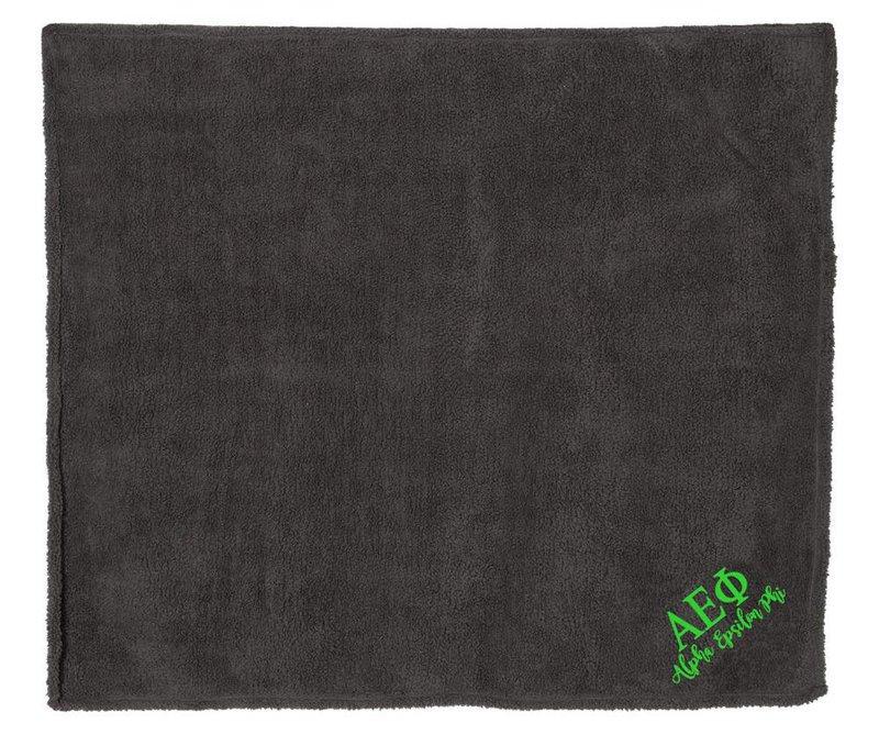Alpha Epsilon Phi Sherpa Blanket