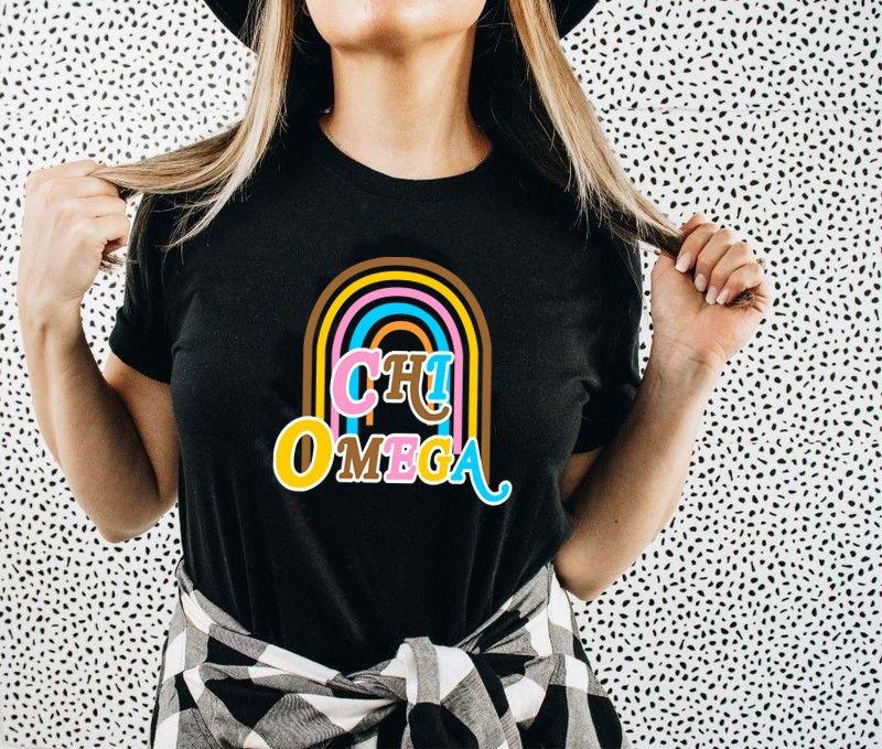 Chi Omega Comfort Colors Joy Tee