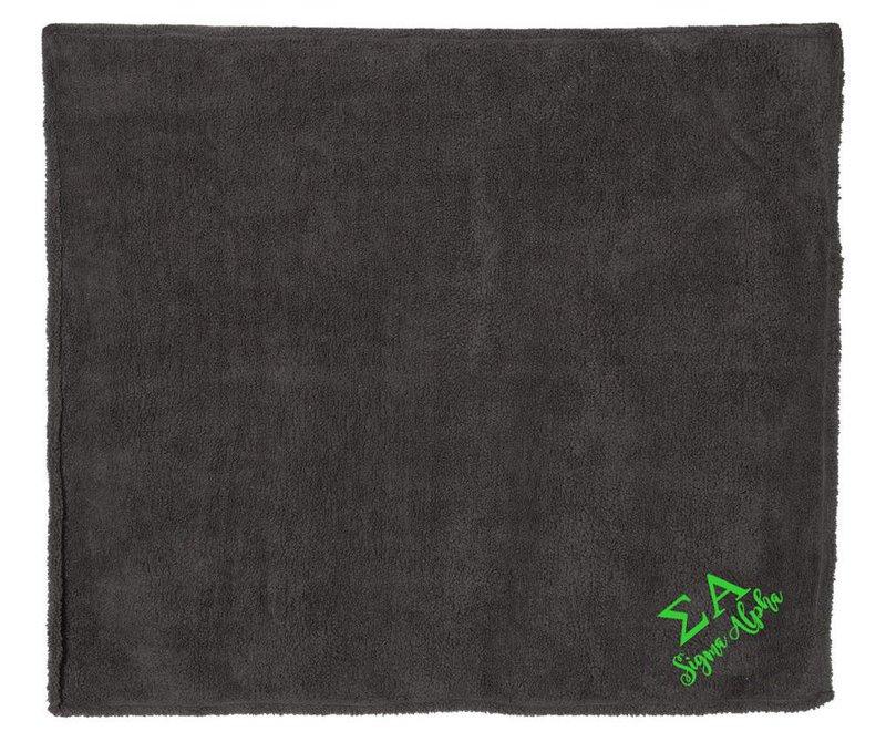 Sigma Alpha Sherpa Blanket