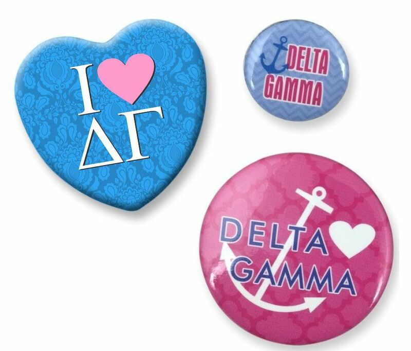Delta Gamma Button Set